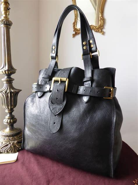Mulberry Elgin Darwin Bag by Mulberry Elgin In Black Darwin Leather Sold