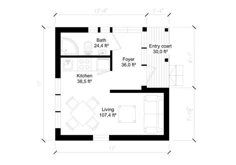 200 square foot cabin plans 200 sq ft house plans home design and style