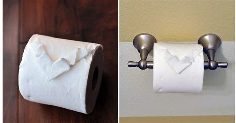 Toilet Paper Origami Book - the cheese thief toilet paper origami