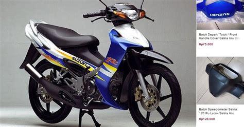 Daftar Harga Sparepart Suzuki daftar harga spare part suzuki satria 120 2 tak