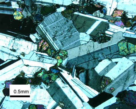 igneous rock textures in thin section untitled document www people carleton edu