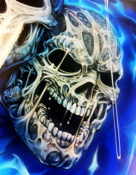 Canvas Painting Classes Near Me custom painted sandrail airbrushed grim reaper and skulls