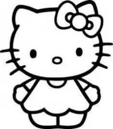 imagenes hello kitty blanco y negro hello kitty black and white cute cumple kitty