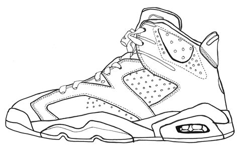 coloring pages of jordan s flag drawn jordania lebron shoe pencil and in color drawn