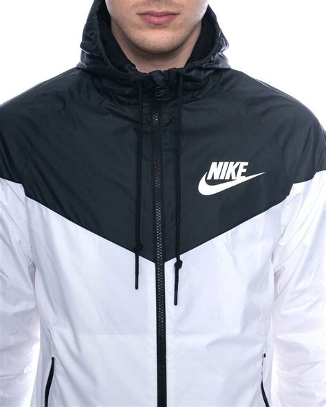 nike windbreaker details about nike windrunner jacket white men women