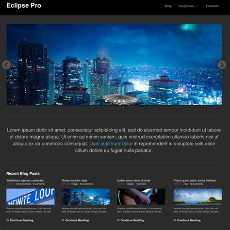 eclipse theme minimal eclipse pro wordpress theme wordpress photography themes