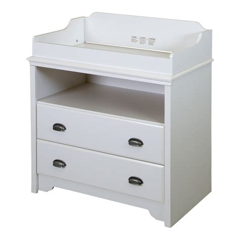 South Shore Changing Table And Dresser White by South Shore Fundy Tide Changing Table White
