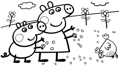 peppa pig coloring pages a4 peppa pig coloring pages nick jr lesson for kids