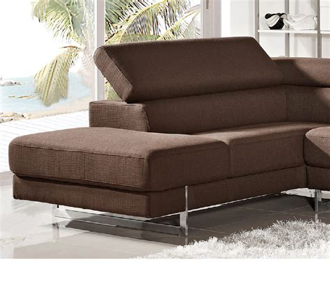 modern fabric sectional dreamfurniture com divani casa milton modern fabric