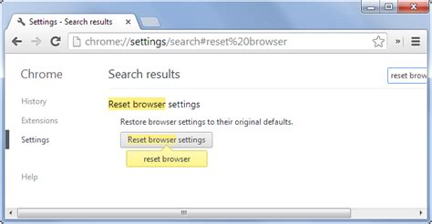 reset chrome online how to reset your web browser to its default settings