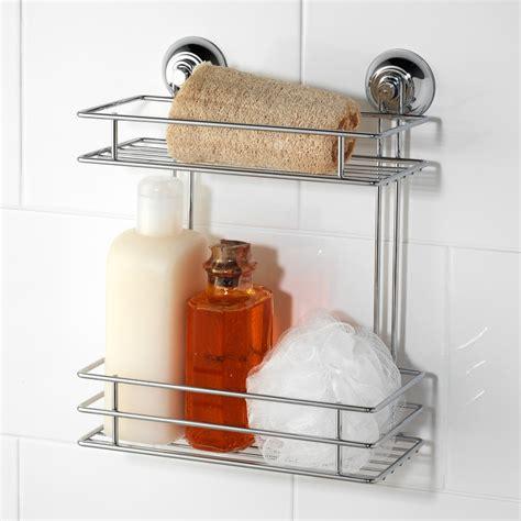 Beldray Two Tier Suction Caddy Bathroom Accessories B M M M Bathroom Accessories