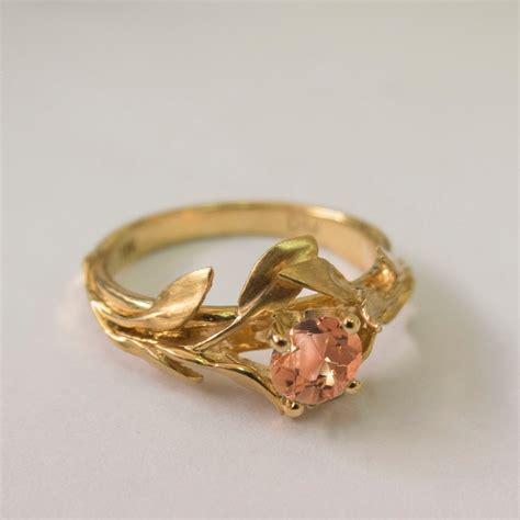 Wedding Rings Leaves by Rings Rings Rings Leaves Engagement Ring No 4 14k