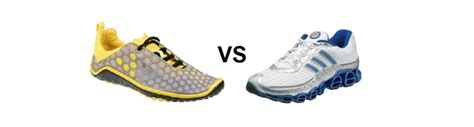 running barefoot vs shoes minimalist running shoes vs traditional runners