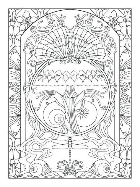 nouveau coloring book nouveau coloring book and coloring pages