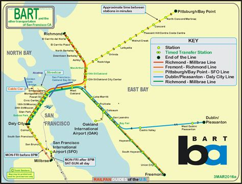 bart station map san francisco s bart railfan guide