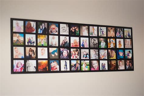 How To Make A Handmade Photo Collage - how to make wall picture collage diy crafts handimania
