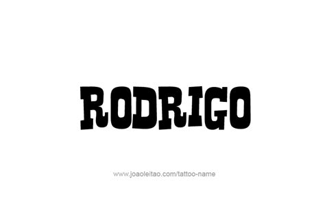 name rodrigo tattoo pictures to pin on pinterest tattooskid