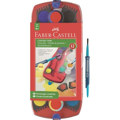 acrylic paint faber castell buy faber castell connector paint set 12