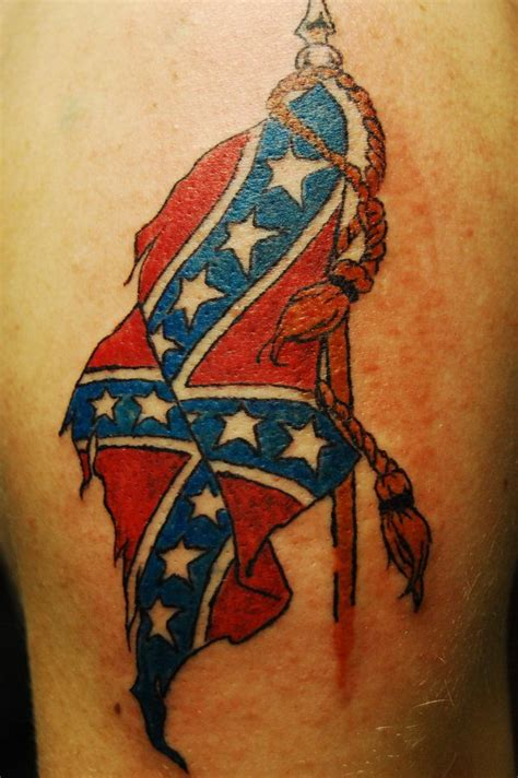 confederate tattoo 30 cool rebel flag tattoos hative