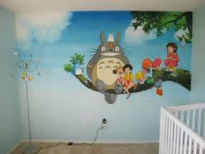 the bedroom wall characters future parents painted beautiful murals in their baby s