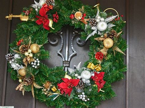 how to decorate for christmas christmas door decorations decoist