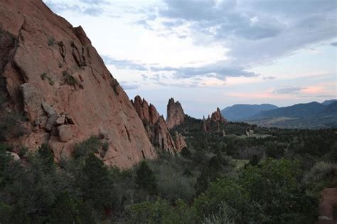 Garden Of The Gods Bike Trail Colorado Springs A Refreshing Change On The Front Range