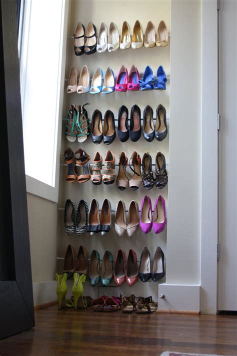 shoe organizer diy diy shoe storage