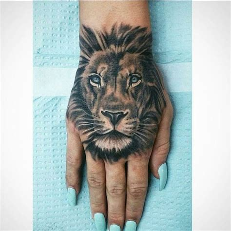 lion tattoo on hand best 25 ideas on shoulder