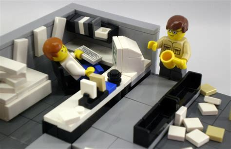 lego office the most irritating habits your desk neighbour can have