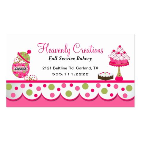 bakery business cards templates free bakery business card templates page2 bizcardstudio