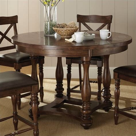 steve silver company wyndham round counter height dining