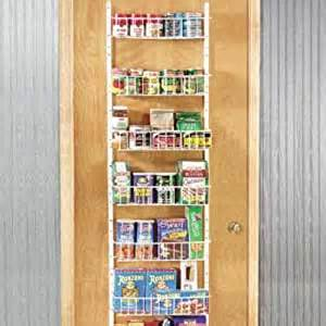 Scientific Spice Rack Amazon Com Adjustable Door Rack Closet Storage And