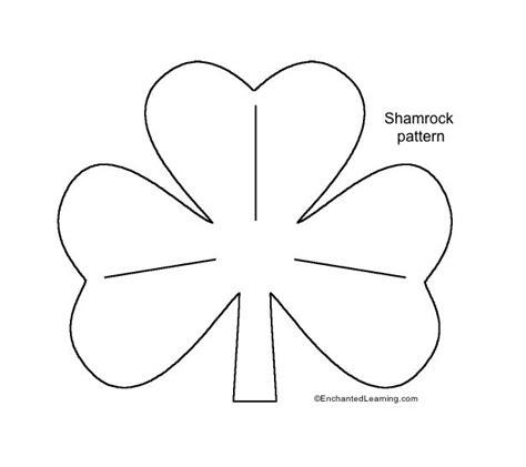 shamrock coloring page free from coloringpage eu lots of medium shamrock template enchantedlearning com st