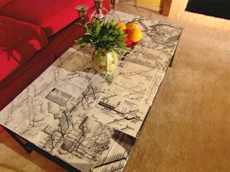 Decoupage Maps On Furniture - decoupage ideas for furniture hgtv