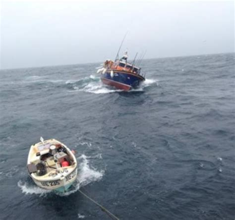 four men were fishing in a boat fishermen speak of miracle rescue after days drifting in