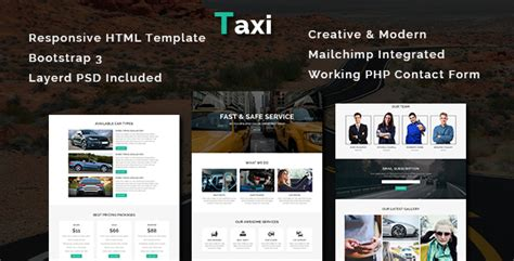 themeforest html templates responsive free download themeforest taxi multipurpose responsive html template