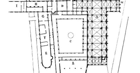 100 romanesque floor plan romanesque architectural plan of pontigny s abbey monasteries floor plan and