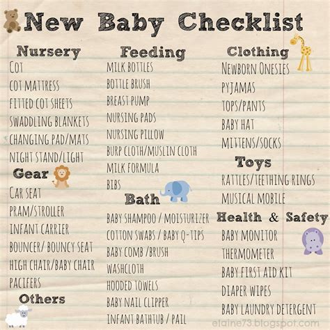 printable baby shopping list my shopping experience at motherswork and personal baby