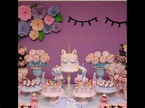 decoracion de uñas unicornio para niñas fiesta de unicornios party ni 209 a mesa de dulces ideas