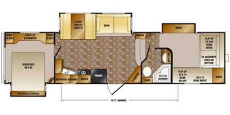crossroads rv floor plans 2013 crossroads cruiser patriot provincial cf315qb