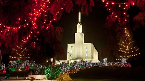 mormons prepare to turn on christmas lights