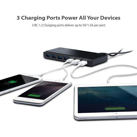 Usb 2 0 7 Ports Hub tp link usb 3 0 7 port hub with 2 charging ports
