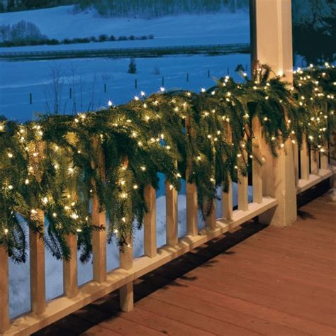 drapey christmas lights greenery i wish i had a big wrap around porch time