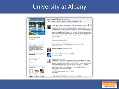 Suny Mba Class Profile by Best Practices For Educators Emarketing Techniques