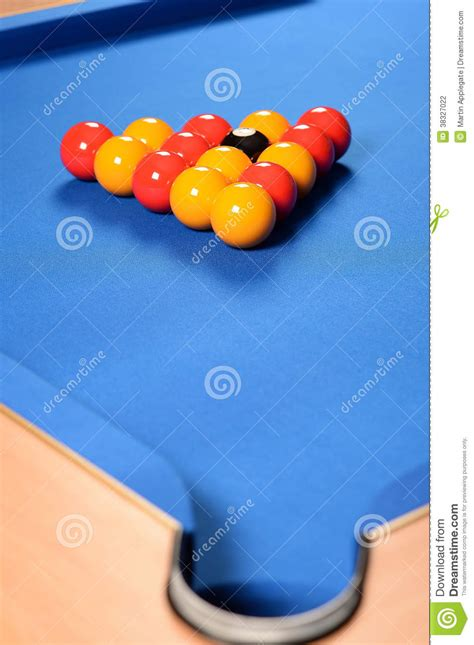 How To Set Up A Pool Table by Balls Set Up On Pool Table Stock Photography Image 38327022