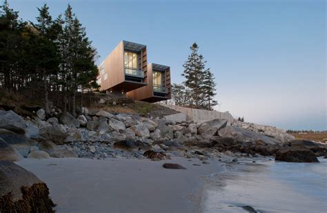 the two hulls house in nova scotia canada gessato blog