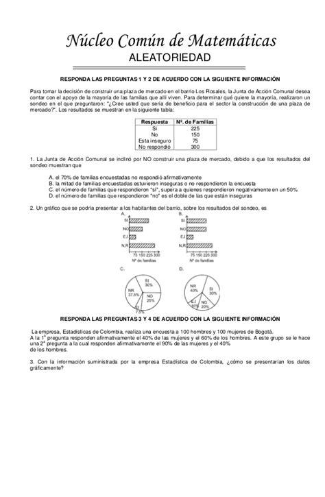 preguntas icfes matematicas 11 pruebas saber icfes 11