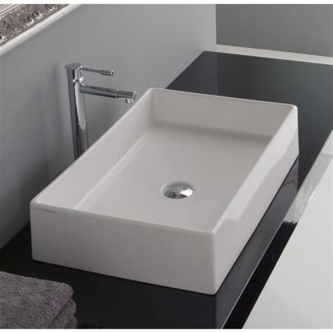 scarabeo bathroom sinks scarabeo 8031 60 bathroom sink teorema nameek s