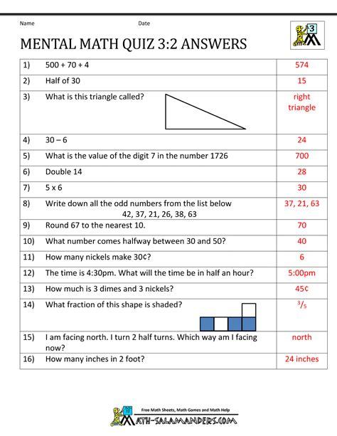 Basic Math Skills Worksheets by Basic Math Skills Worksheets Answers Math Worksheet For