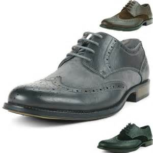 Alpine swiss men s modern wing tip dress shoes save 68 1sale